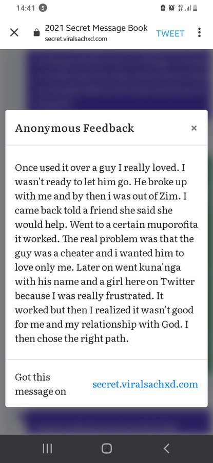 Why We Use Juju & Love Portions: Zimbabwean Women Share Confessions & Testimonies