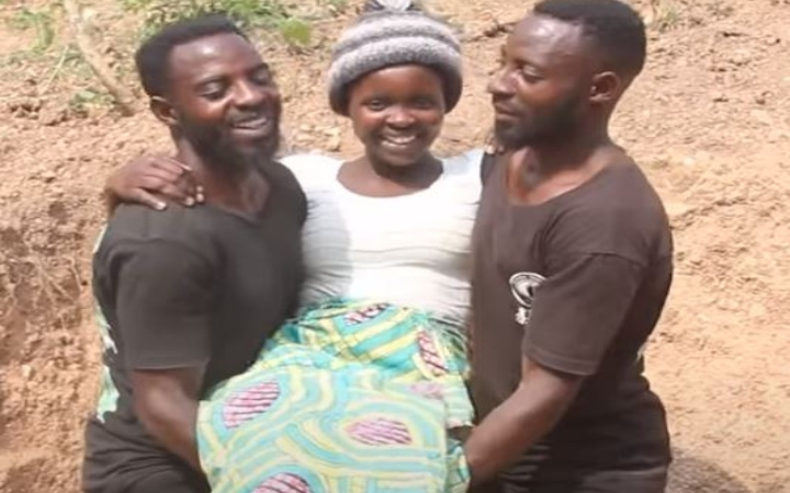 Twin Brothers Marry One Wife
