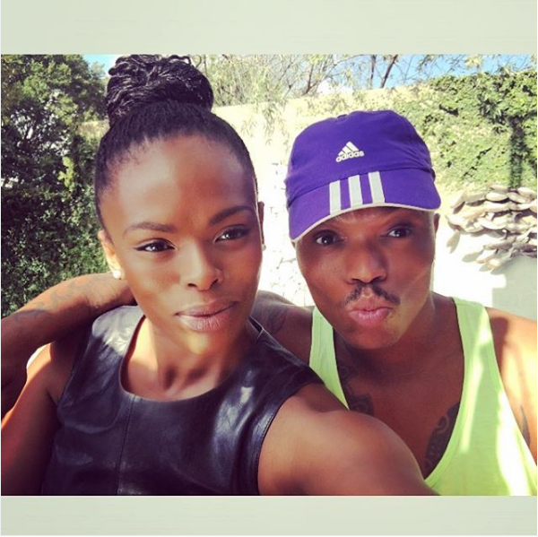 Unathi And Somizi -In Happier times