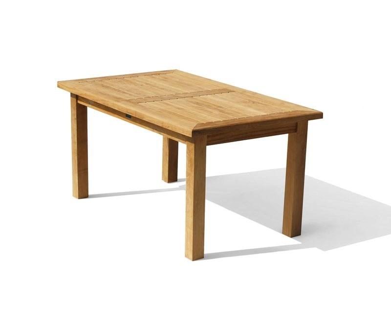 Balmoral Teak Fixed Rectangular Garden Patio Table