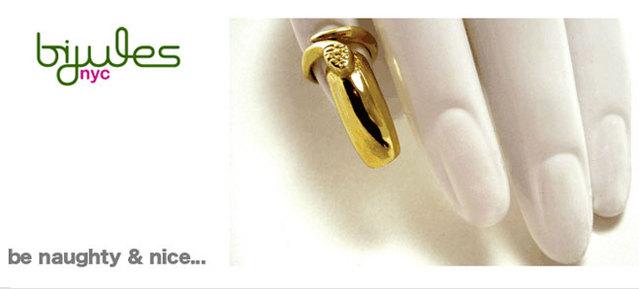 Nail Ring by Bijules NYC