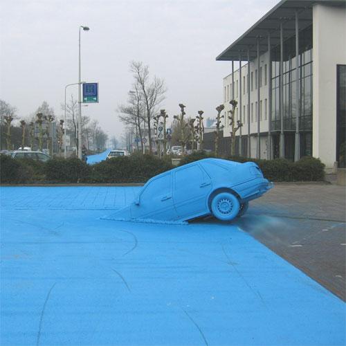 Henk Hofstra Blue Road
