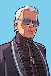 Lagerfeld in GTA