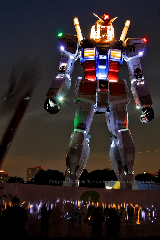 gundam statue 12 A Giant Robot in the Streets of Tokyo!