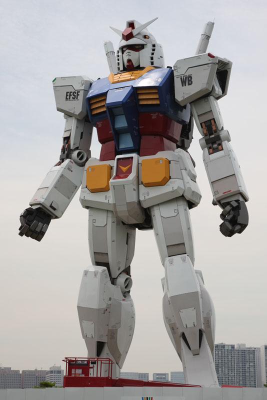 gundam1 A Giant Robot in the Streets of Tokyo!