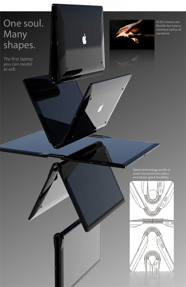 apple table ipad itablet macbook touch5 Apple Tablet Concept