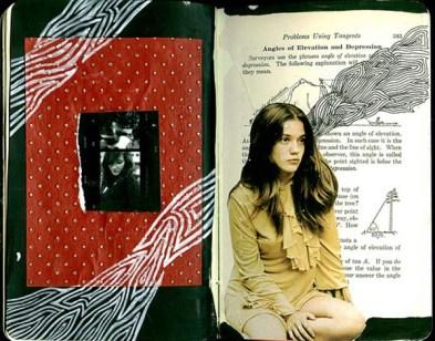 creative sketchbook collages2 Creative Sketchbook Collages