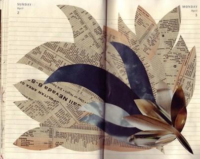 sketchbook collages Creative Sketchbook Collages
