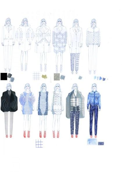 alexandra verschueren croquis 2 600x849 Art School Confidential : Alexandra Verschueren