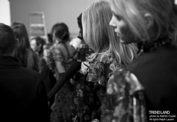 ralph lauren backstage nyfw10 18 600x413 From The First Sketches to the Runway: Exclusive Ralph Lauren Backstage
