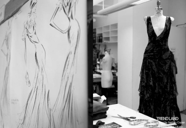 ralph lauren backstage nyfw10 2 600x413 From The First Sketches to the Runway: Exclusive Ralph Lauren Backstage