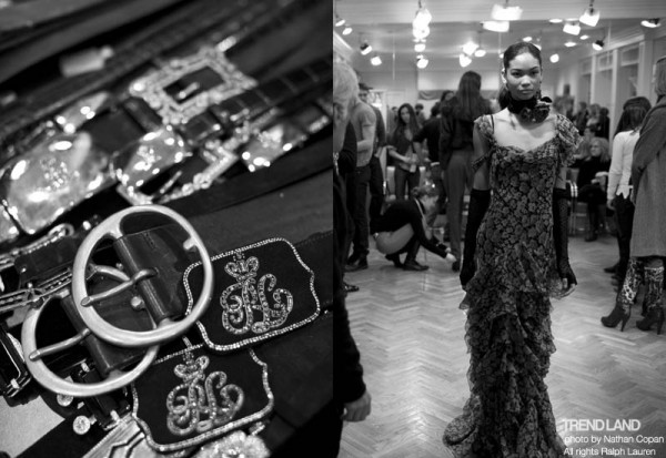 ralph lauren backstage nyfw10 9 600x413 From The First Sketches to the Runway: Exclusive Ralph Lauren Backstage