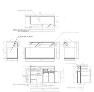 plans du meuble caisse