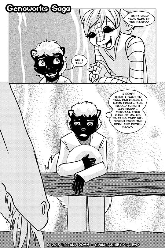 Genoworks Saga Chapter 11 Page 3