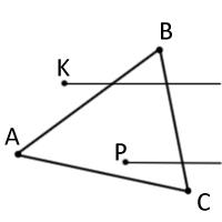 Рис. 5. Метод геометрического луча.