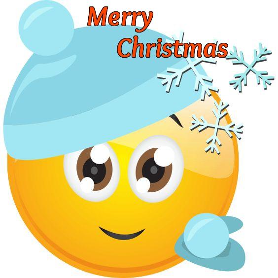 Free Emoji Christmas Card