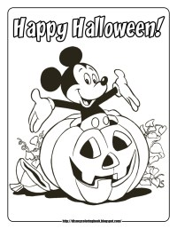 free halloween coloring pages online