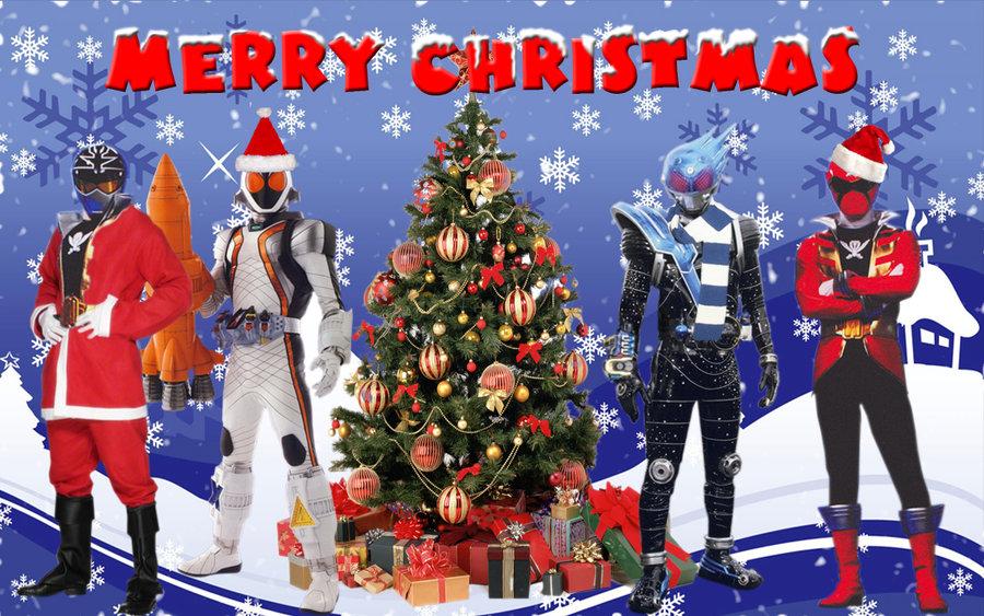 power rangers merry christmas