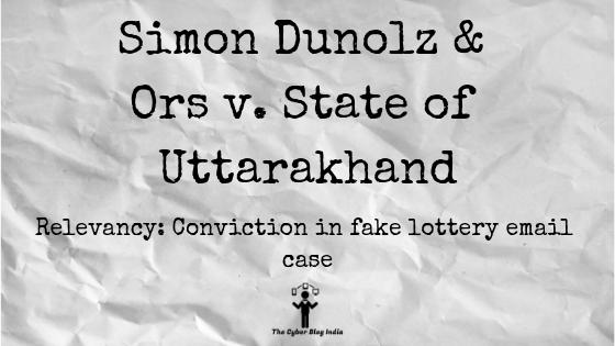 Simon Dunolz & Ors v. State of Uttarakhand