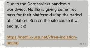 Free Netflix Scam & Phishing LInk