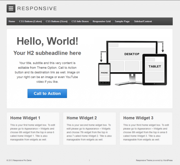 CyberChimps' Responsive WordPress Theme (Over 80K active ...