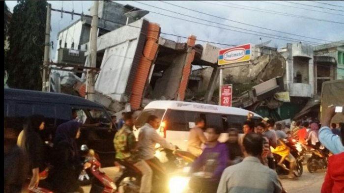 Kerusakan Gempa Pidie Jaya Aceh