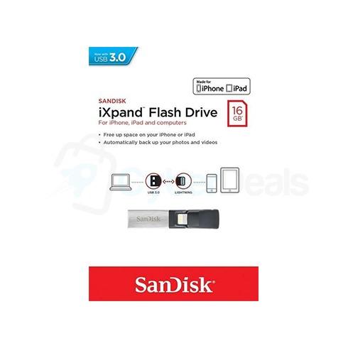 SanDisk iXpand Mini Flash Drive for iPhone and iPad 3