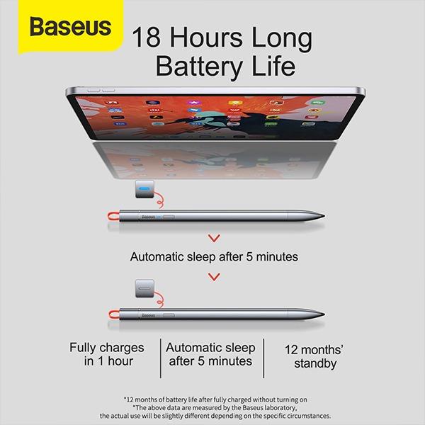 Baseus Square Line Touch Screen Capacitive Stylus Pen 2 1