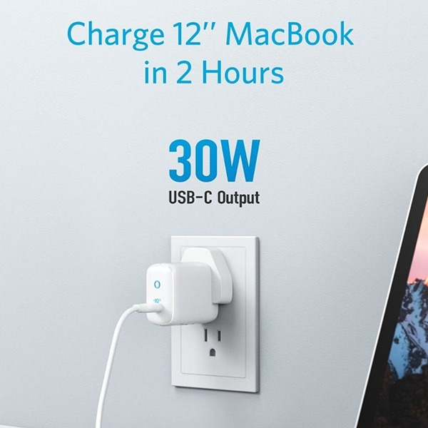 Anker PowerPort III Mini 30W Power IQ 3.0 USB Type C Charger 2