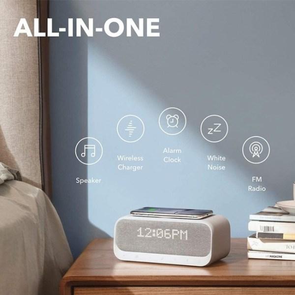 Anker Soundcore Wakey Bedside Bluetooth Speaker 2