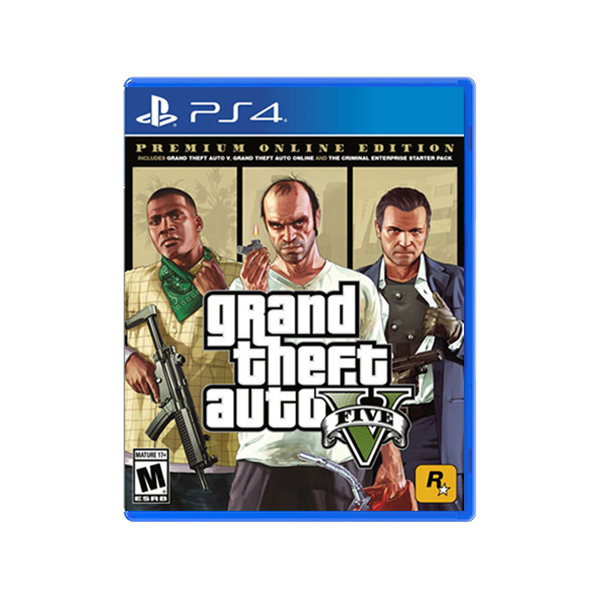 Grand Theft Auto V Premium Online Edition PS4 Game Price in Sri Lanka Buy Online at cyberdeals.lk