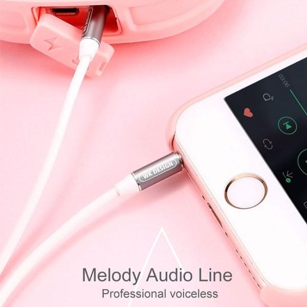 Remax WK Design WDC 019 Melody Audio Aux Cable 1