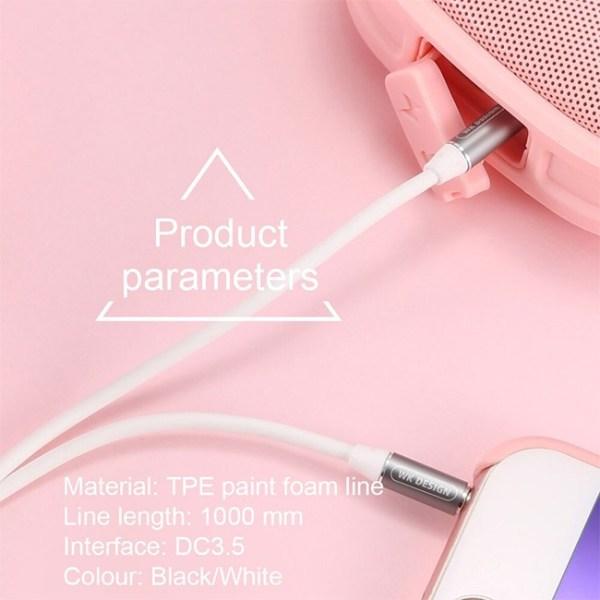 Remax WK Design WDC 019 Melody Audio Aux Cable 2