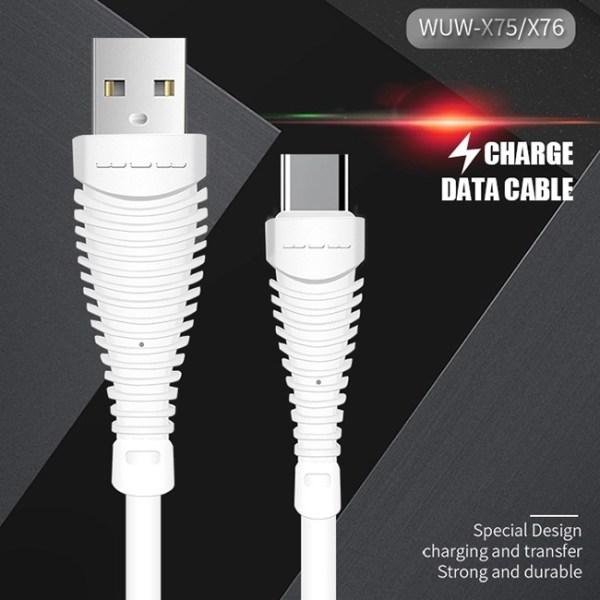 WUW X75 USB Micro Cable 3
