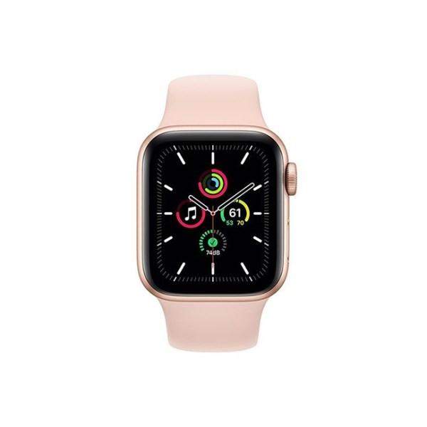 Apple Watch SE 40MM Gold Aluminum GPS Pink Sand Sport Band 1