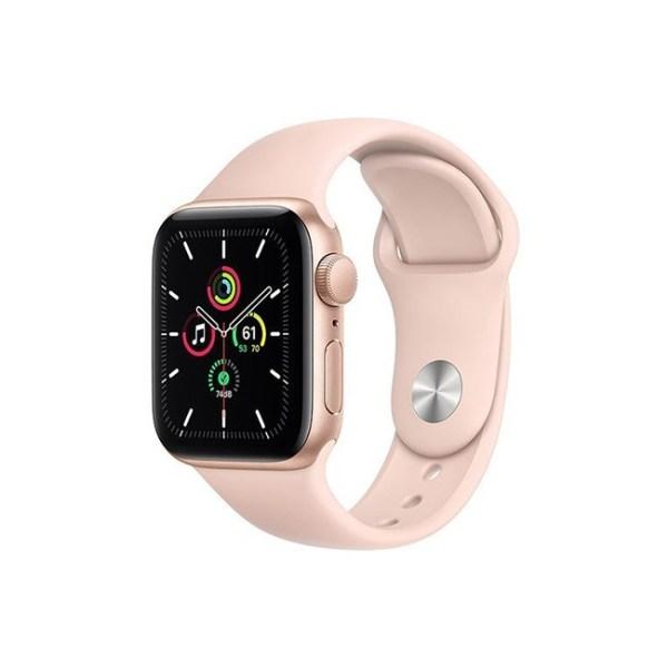 Apple Watch SE 40MM Gold Aluminum GPS Pink Sand Sport Band