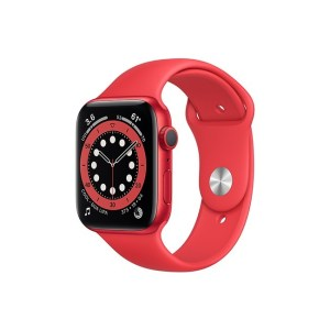 Apple Watch Series 6 44MM RED Aluminum GPS Red Sport Band