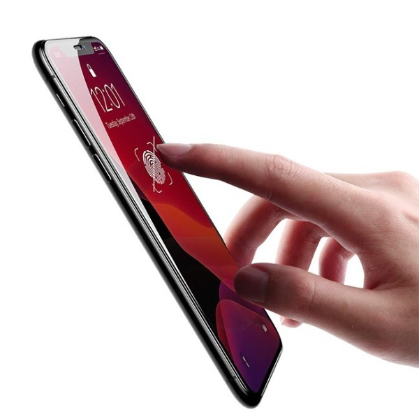 Baseus Full Coverage Curved Tempered Glass for iPhone 11 Pro Max 2