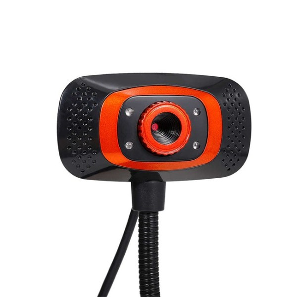 Drive Free USB Webcam with Microphone Fill Light Lamp 1