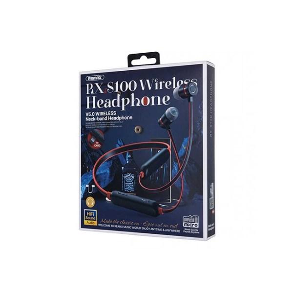 Remax RX S100 Wireless Neckband Earphones 1