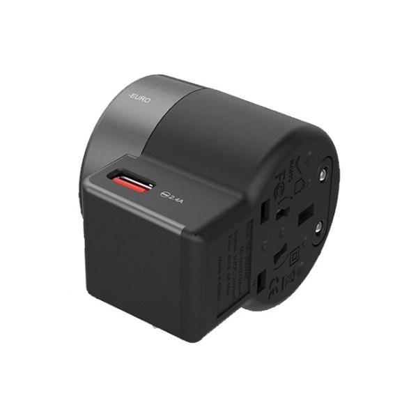 Vidvie TA4401 World Travel Charging Adapter 1