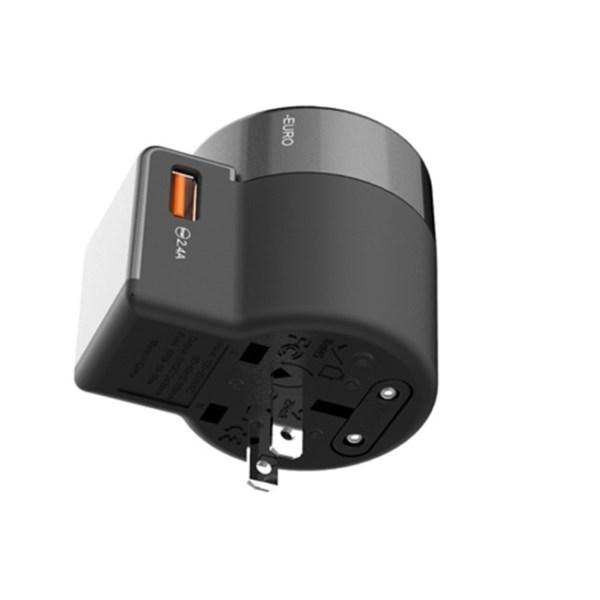Vidvie TA4401 World Travel Charging Adapter 2