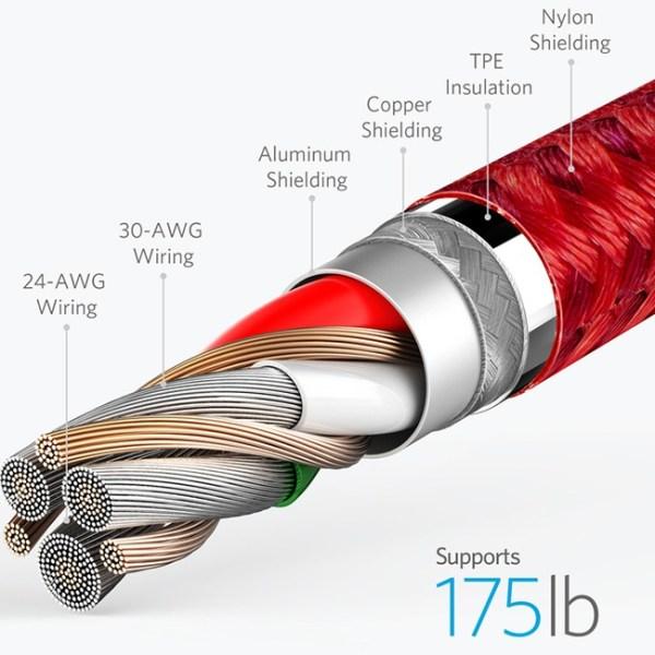 Anker PowerLine II 3ft Lightning Cable 2