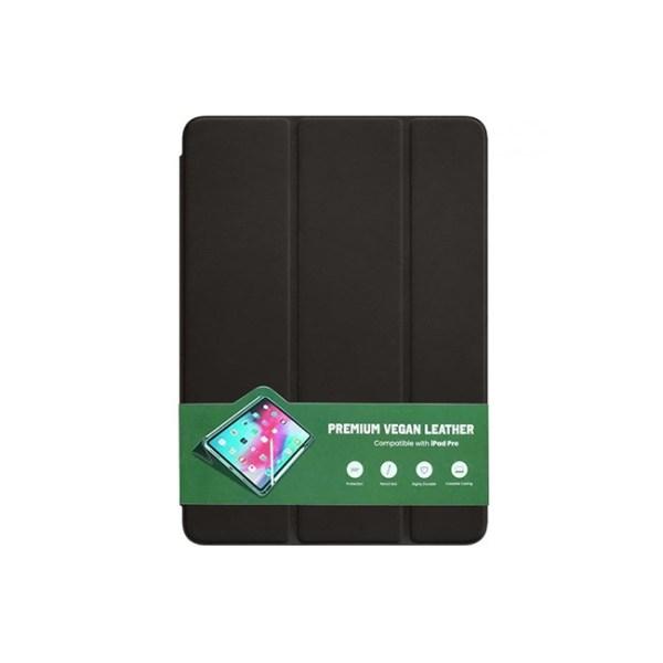 green premium vegan leather ipad case 1