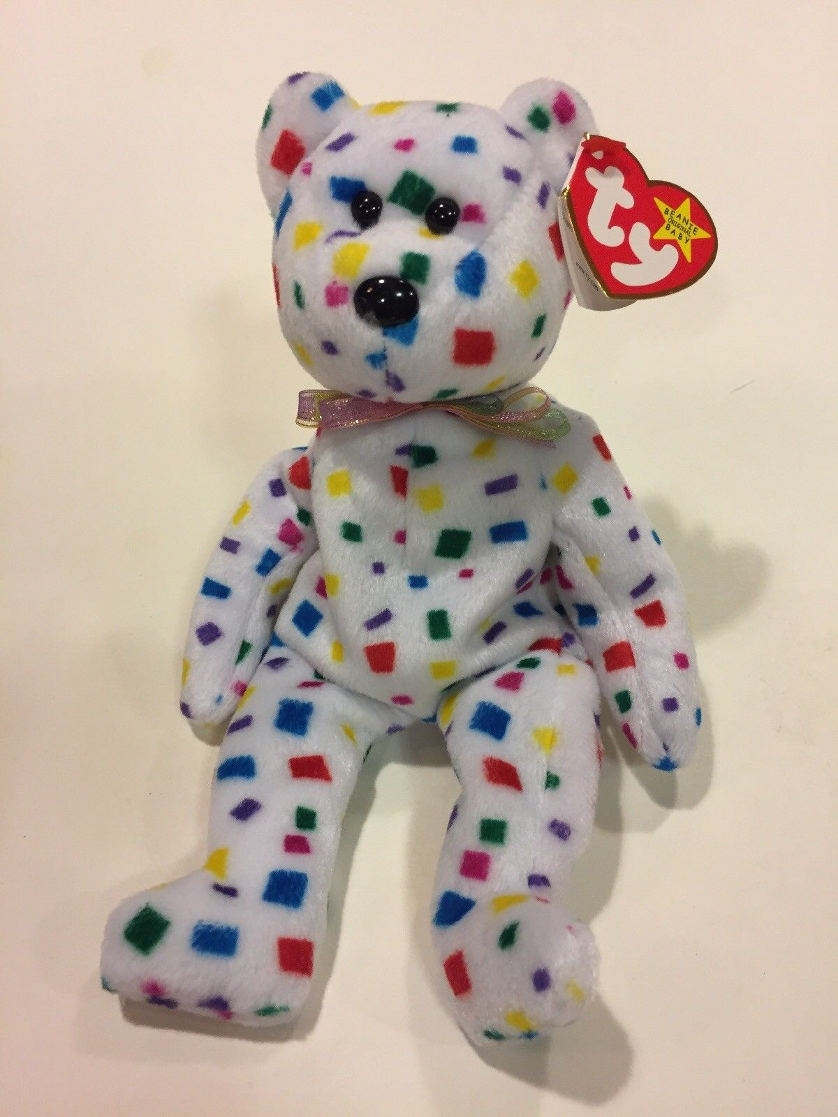 c76fac9a7ea Ty Beanie Babies Ty 2K NWMT 2000 with Case MAYBE ERROR - Cyber Dutchman