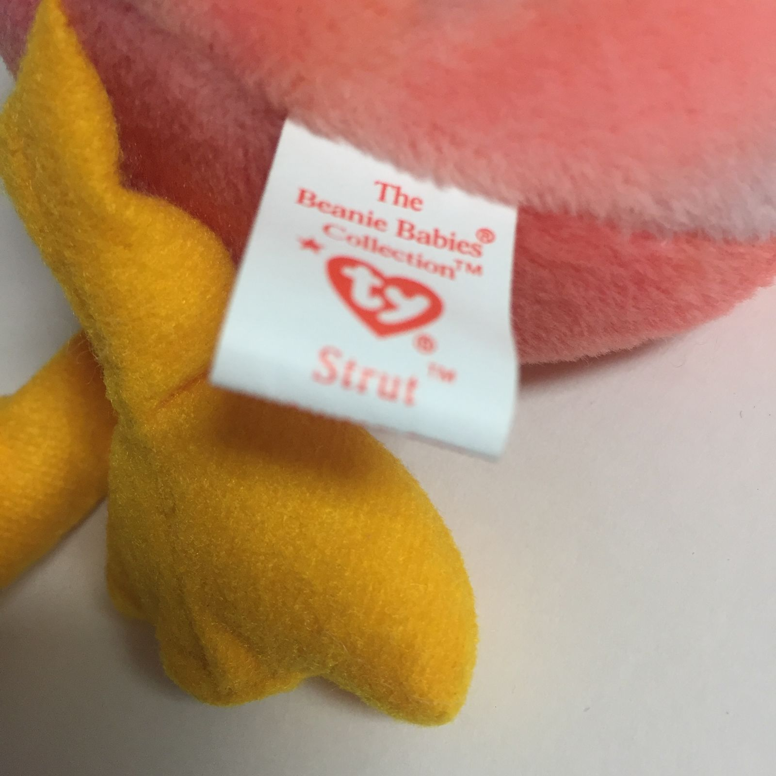 4171 Ty Beanie Babies Strut the Rooster Ty Inc
