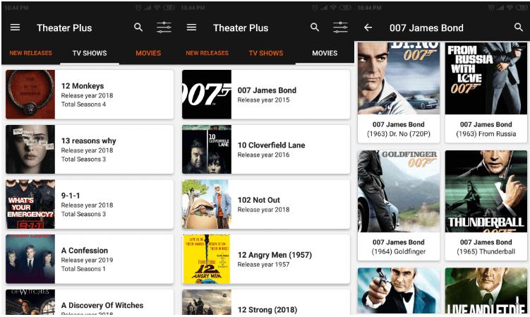 Theater Plus App