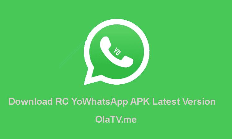 Download RC YoWhatsApp APK Latest Version