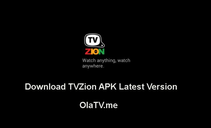 Download TVZion APK Latest Version