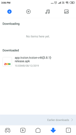 Install TVZion on Android Smarthpones